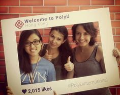 PolyU - Hong Kong: Sotiria is an intern at The Hong Kong Polytechnic University (summer Thanks to IAESTE Hong Kong she has a great time not only during work but also afterwards, attending the nice events and tours organized for all the IAESTE trainees :) Summer 2015, Hong Kong, Greek, University, Thankful, Tours, Events, Nice, Greek Language