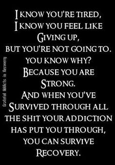 75 Recovery Quotes & Addiction quotes to Inspire Your Addiction Recovery Journey. The path to recovery is never easy. Addiction Recovery Quotes, Love Addiction Quotes, Quotes For Addicts, Alcohol Addiction Quotes, Drug Recovery Quotes, Depression Recovery Quotes, Relapse Quotes, Recovery Humor, Codependency Recovery