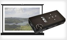 Groupon - $199 for a Favi Portable Pico Projector for Kindle Fire HD and iPad ($399 List Price). Free Shipping and Free Returns. in Online Deal. Groupon deal price: $199.00