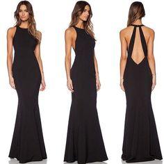 Gala Dresses, Event Dresses, Dresses For Teens, Cute Dresses, Beautiful Dresses, Formal Dresses, Fiesta Outfit, Black Bridesmaid Dresses, Dress To Impress
