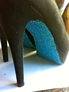 something blue glitter soles