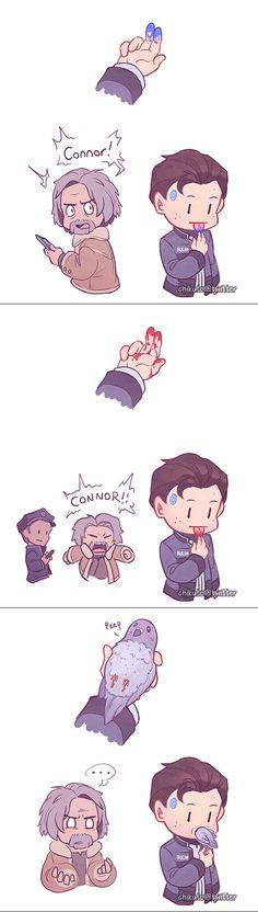 Dafuq Connor?! O_____o