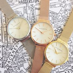 We're big fans of our brand new Hackney styles - a masterclass in vintage styling! <3 #oliviaburton