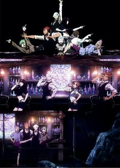 Death Parade most misleading intro ever I love it