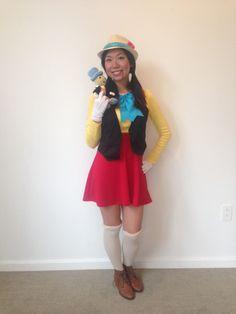 My DIY Pinocchio costume!!!