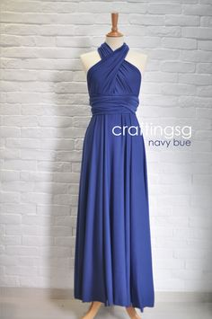 Hey, I found this really awesome Etsy listing at http://www.etsy.com/listing/130767556/bridesmaid-dress-infinity-dress-navy
