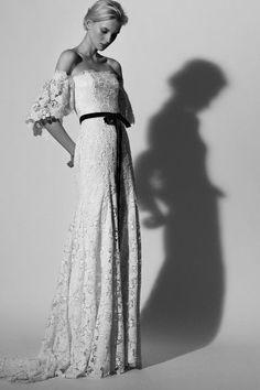 Vestidos de novia inspirados en flores