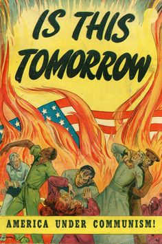 """In 1947 the Catechetical Guild Educational Society in St. Paul, Minnesota put out this warning against Communist infiltration. The inside cover provides this dire statement: """"The average American is prone to say, """"It can't happen here."""" Millions of people in other countries used to say the same thing…. Today they are dead – or living … Continue reading """"Is This Tomorrow? A Red Scare Comic Book from 1947"""""""