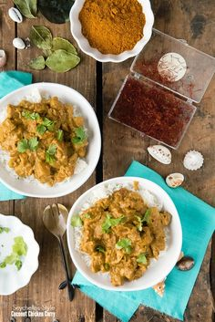 Seychelles-Style Coconut Chicken Curry do not repeat Coconut Curry Chicken, Chicken Curry, Indian Food Recipes, Asian Recipes, Indian Foods, Food Dishes, Main Dishes, Dishes Recipes, Chicken Carbonara Recipe