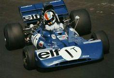 1972 Italian GP, Monza : Francois Cevert, Tyrrell-Ford 002 Test-Car, Elf Team Tyrrell, Practice. (ph: Autodiva)