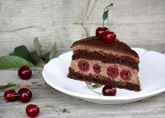 Čokoládovo višňová torta, recept, Torty | Tortyodmamy.sk Cake, Desserts, Food, Tailgate Desserts, Deserts, Kuchen, Essen, Postres, Meals