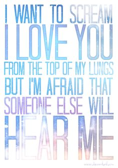 Fall Out Boy - lyrics from The (Shipped) Gold Standard. What beautiful, meaningful poetry.