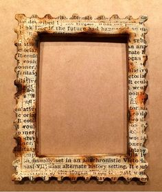 CREATIVITY IS CONTAGIOUS: A FAUX RUSTED FRAME TUTORIAL