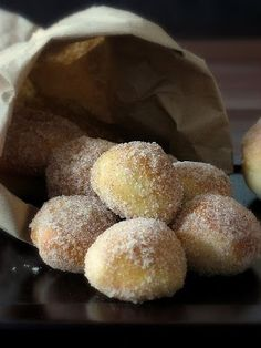 baked (not fried) that's right! doughnuts
