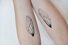 Insect Wings Temporary Tattoo Tattoo Temporary by JoellesEmporium, £3.00