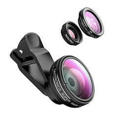 Fresh TaoTronics Fisheye Fischauge Objektiv Set Handy Clip On Kamera Adapter Grad Fisheye Objektiv