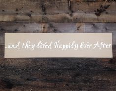 and they lived Happily Ever After Handpainted by RaindropsOnRosesB, $30.00