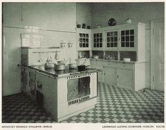 Kitchen, Germany, 1915