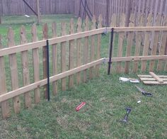 temporary fence! Perfect for a little outdoor play area at the rental