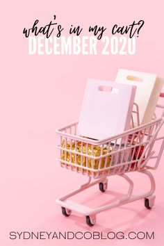 WHAT'S IN MY CART - DECEMBER 2020 | SYDNEY & CO. Walmart Black Friday Deals, Walmart Deals, Mine Cart, Online Shopping Deals, My Wish List, Singles Day, No Time For Me, Instagram Story, Diy Christmas