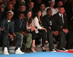 Milla Jovovich in Y-3 Autumn/Winter 2009-10 Show MBFW  Front Row