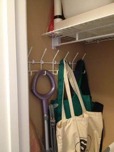 Re Purpose Over The Door Coat Rack. Coats Now Use Hangers, And