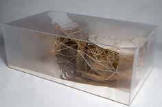Concept model of Jyväskylä Music and Art Centre / Michael Hensel & Achim Menges