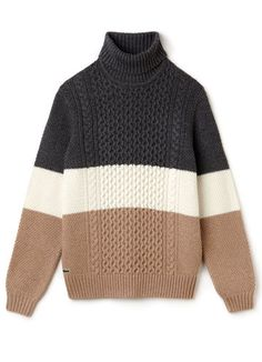 Stay warm with the Lacoste Men's Knitwear collection: wool knitwear, cotton jumpers or turtleneck sweaters at the LACOSTE digital boutique. Lacoste Live, Lacoste Men, Winter Love, Cotton Jumper, Color Block Sweater, Stay Warm, Collars, Knitwear, Men Sweater