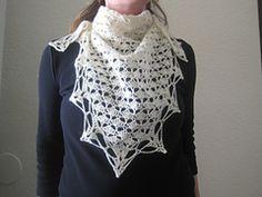 Ravelry: A Classic Triangle Shawl pattern by Lara Sue