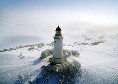 Lighthouse, Hidensee Island, Germany  Eller Brock
