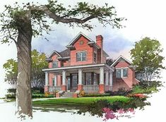 Vignette style perspective renderings provide a softer more informal presentation than their detailed and specific counterparts. Watercolor Architecture, Landscape Architecture, Architecture Design, Watercolor Sketch, Sketch Ink, Sketches, Sketch Drawing, Building Sketch, Perspective Drawing