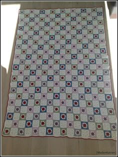 Ravelry: MadamKatrien's #02 Star Granny Square Blanket