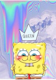 Find images and videos about wallpaper, Queen and spongebob on We Heart It - the app to get lost in what you love.