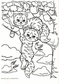 Lisa Frank Is Very Popular Among Kids Especially Girls Now Let Your Child To Explore Their Imagination With These Free Printable Coloring Pages
