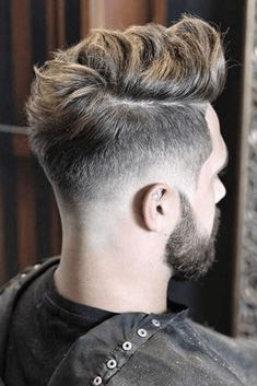 nice Cool Mens Hairstyles + Haircuts For Men Cool Mens Haircuts, Cool Hairstyles For Men, Undercut Hairstyles, Hairstyles Haircuts, Hairstyle Ideas, Mens Hairstyles Fade, Classic Hairstyles, Modern Haircuts, Wedding Hairstyles
