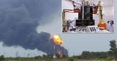#EXPLOSION AT #SPACEX...