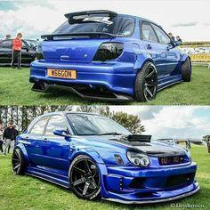 Subaru WRX Sti performing with sporty, so many consumers are approached because adrift in terms of body and elegant look. Subaru Wrx Wagon, Subaru Forester Sti, Jdm Subaru, Subaru Impreza Sti, Subaru Cars, Tuner Cars, Jdm Cars, Japanese Cars, Sexy Cars
