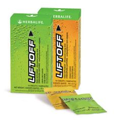 When you're feeling tired, re-energise with Liftoff, a caffeinated low calorie, effervescent energy drink. Caffeine helps to increase alertness and improve concentration.