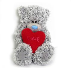"Tatty Teddy with ""LOVE"" heart  www.sendateddy.net  www.imaginegiftgallery.com"