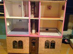 Uschi's klitzekleine Puppenhauswelt  Interesting basement addition to the Del Prado dollhouse