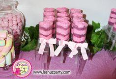 Push cake temática bebé - Push cake baby girl