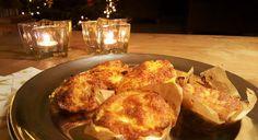 Aardappelgratin muffins
