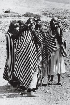 Moroccan women in traditional Berber dress   The Berber Decorative Tradition, an Inspiration to Yves Saint Laurent