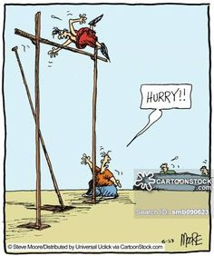 Bc Comic Strip Pole Vault