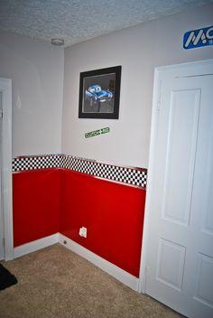 Rileys Cars bedroom Border?
