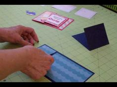 I have a fun, new card fold to show you! It's a tri-fold, and I'll show you how to use it to make 2 cards! Thanks for watching and subscribing! Please visit me at http://www.cardztv.blogspot.com/