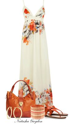 """Maxi Dress"" by natasha-gayden on Polyvore"