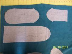 pinterest fleece slipper socks pattern free   changed the pattern a little to make it easier, faster, and cheaper ...