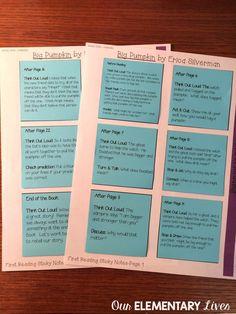 64 best post it note lesson plan images teaching. Black Bedroom Furniture Sets. Home Design Ideas