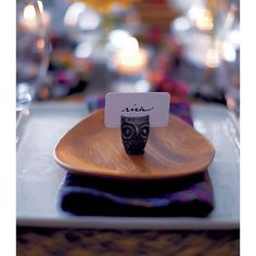 Owl Placecard Holder in Placecard Holders